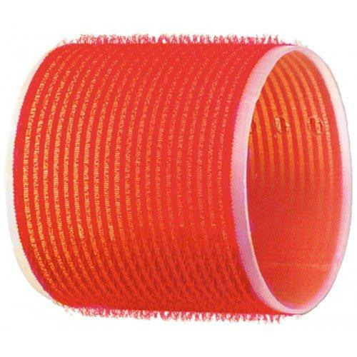 Бигуди-липучки Dewal красные, 70 мм, 6 шт/уп  R-VTR18