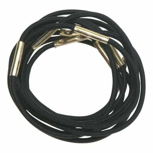 Резинки для волос Dewal, черные, midi 10 шт/уп RE024