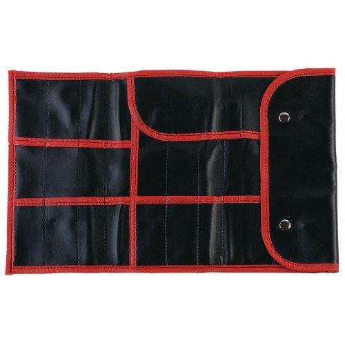 Чехол для парикмахерских инструментов DEWAL,полимерный материал, черный 37х23 см