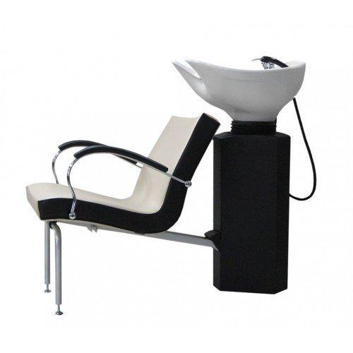 Кресло мойка Имидж Мастер Касатка, черное, 600 Долеро, 1,40 К-КСКм600