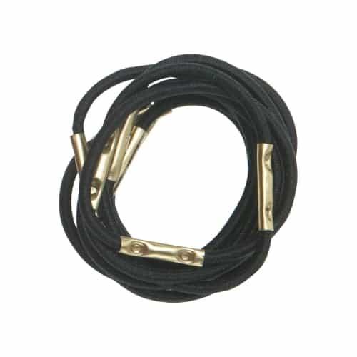 Резинки для волос Dewal, черные, mini 10 шт/уп RE027