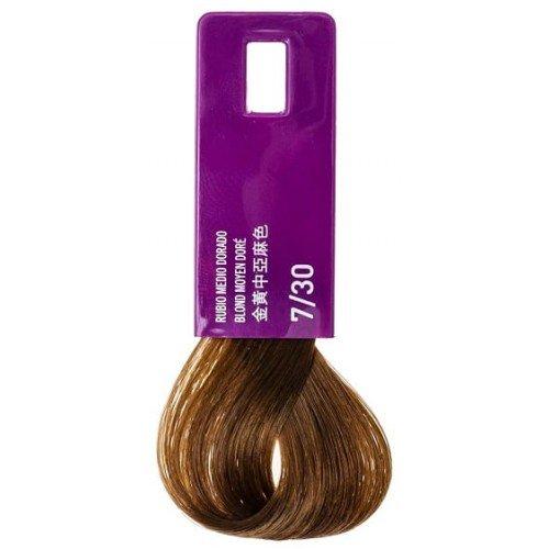 Тонирующая крем-краска Lakme Gloss Color Rinse 7/30, средне-белокурый золотистый 37301