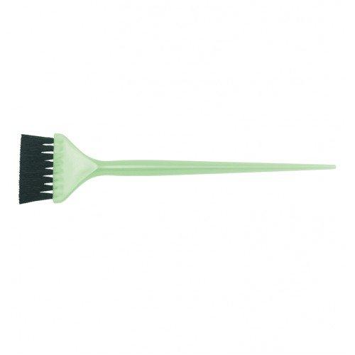 Кисть для окрашивания Dewal зеленая, с черной волнистой щетиной, узкая 50 мм JPP048 green