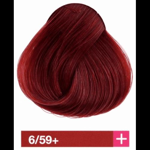 Крем-краска Lakme Collage+ Intense 6/59+, темный блондин интенсивный махагоновый 26599