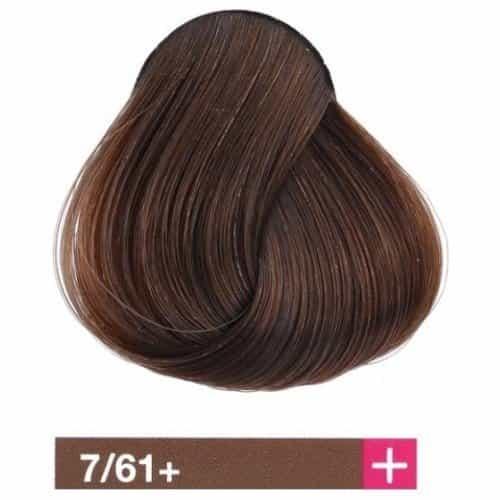 Крем-краска Lakme Collage+ Intense 7/61+, средний блондин интенсивный коричнево-пепельный 27611