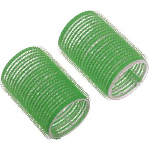Бигуди-липучки Dewal зеленые, 61 мм, 6 шт/уп R-VTR16