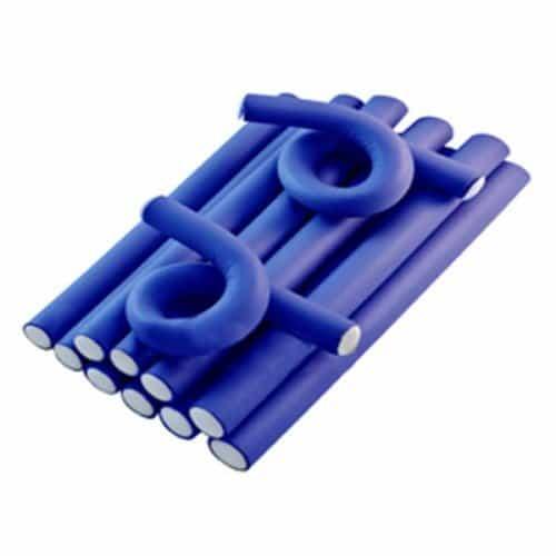 Бигуди-бумеранги Sibel синие, 25 см х 30 мм 5 шт. 4225302