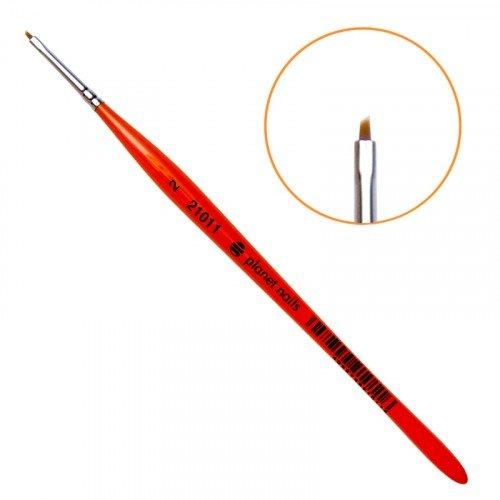 Кисть Planet Nails, для китайской росписи из синтетического волоса, скошенная, № 2 21011