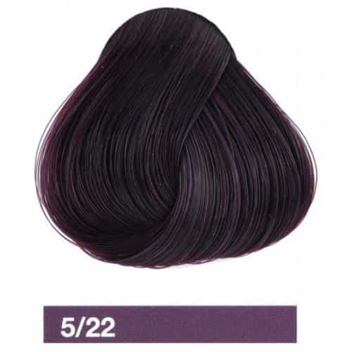 Крем-краска Lakme Collage 5/22, светлый шатен фиолетовый яркий 25221