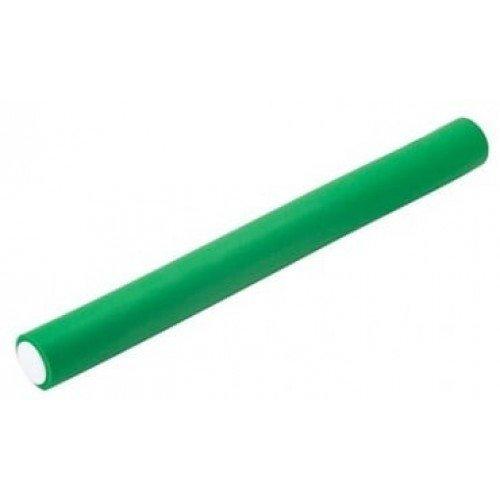 Бигуди-бумеранги Harizma зелёные, 22x240 мм 10 шт. h10983-22