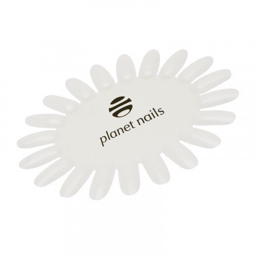 Палитра Planet Nails, для лаков, ромашка, матовая с логотипом 19286