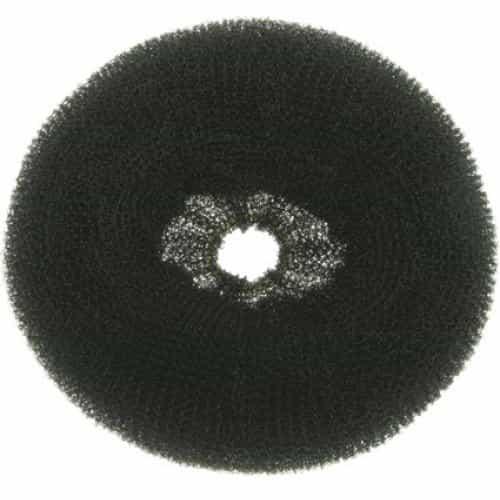 Валик для прически Dewal, губка, черный, диаметр 8 см HO-5321S/10 Black