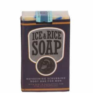Освежающее мыло для тела со скрабом The Chemical Barbers ICE&RICE SOAP ТСВ08