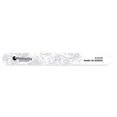 Пилка для ногтей HairWay для блеска с орнаментом стандарт 18 см 11173