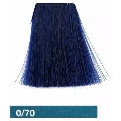 Корректирующая крем-краска для волос Lakme Collagemix 0/70, синий микстон 20701