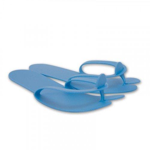 Тапочки TANNYMAXX плотные, голубые, 3мм, 1 пара, 302307