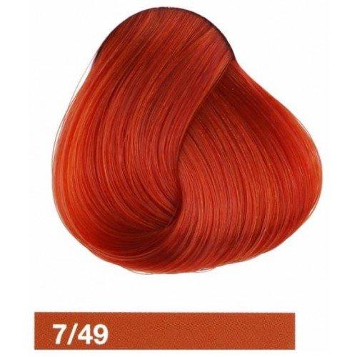 Крем-краска Lakme Collage 7/49, средний блондин медно-красный 27491