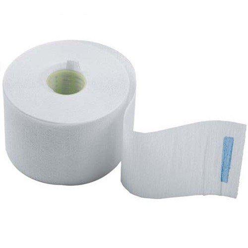 Воротнички бумажные с синей липучкой Dewal 100 шт. 01-001