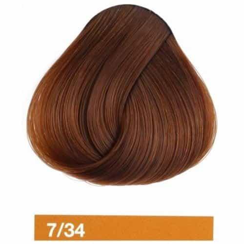 Купить крем-краску Lakme Collage 7/34, средний блондин золотисто-медный 27341