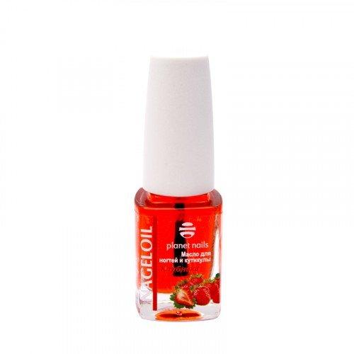 Масло для ногтей и кутикулы Planet Nails, Nageloil, клубника, 11 мл 14033