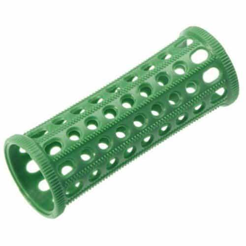 Бигуди Sibel пластиковые, зеленые, 25 мм 10 шт 4600632