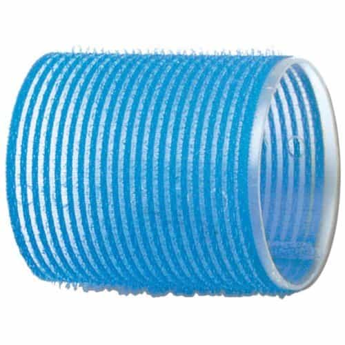 Бигуди-липучки Dewal голубые, 55 мм, 6 шт/уп R-VTR15