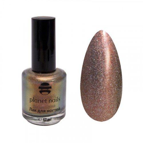 Лак для ногтей Planet Nails, голография, 221, 17 мл 14921
