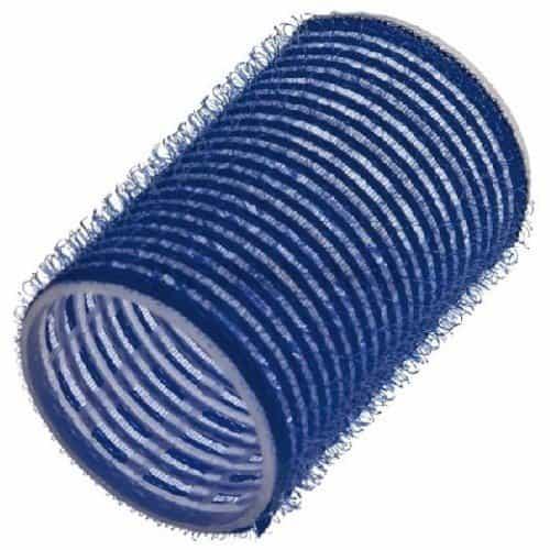Бигуди Sibel на липучке, синие, 40 мм 6 шт 4164549