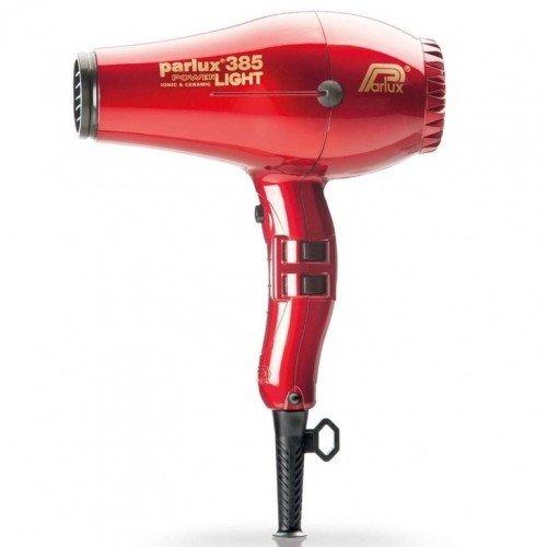 Фен Parlux 385 PowerLight Ionic & Ceramic красный