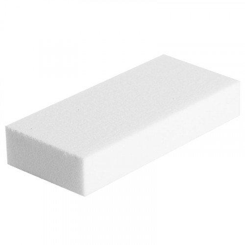 Баф для ногтей Planet Nails, зауженный, белый, 100/120 20306