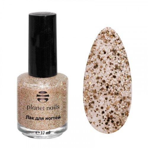 Лак для ногтей Planet Nails, конфетти, 999, 17 мл 14999