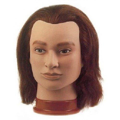 Голова учебная Sibel Julien, мужская, натуральные волосы, 20-25 см 0040901