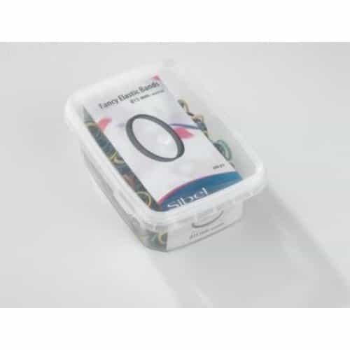 Резинки эластичные Sibel для причесок цветные, 500 шт 4432950