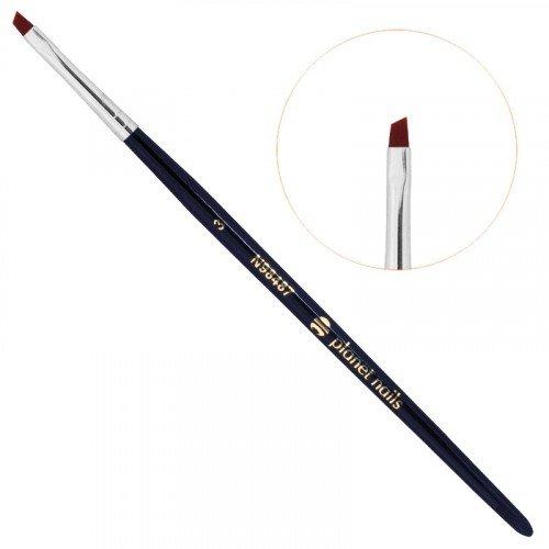 Кисть Planet Nails, для китайской росписи, скошенная, № 3 21423