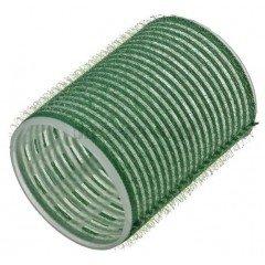 Бигуди Sibel на липучке, зеленые, 61 мм 6 шт. 4166549