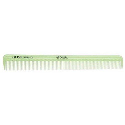 Расческа Dewal Olive комбинированная, узкая, зеленая 21,5 см CO-6008-OLIVE
