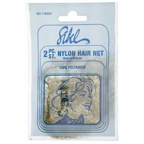 Сеточка для волос Sibel коричневая 2 шт 118023346