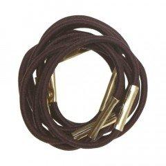 Резинки для волос Dewal, коричневые, мини, 10 шт/уп RE028