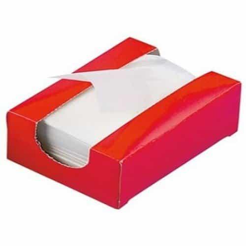 Бумага для химии Sibel 1000 шт красная 4330371