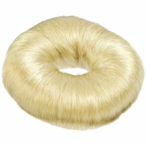 Кольцо светлое Sibel для вечерних причёсок (хлопок), диаметр 9 см 091083252