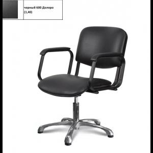Кресло Имидж Мастер Контакт+ гидравлика Черный 600 Долеро (1,40) К-КН+
