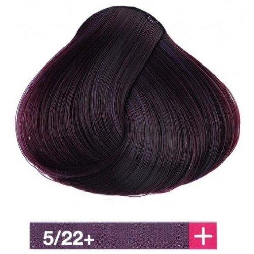 Крем-краска Lakme Collage+ Intense 5/22+, светлый шатен интенсивный фиолетовый, яркий 25229