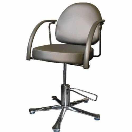 Кресло Имидж Мастер гидравлика с пиастрой, серебро, 7147 Skaden, 1,45 Глория К-ГЛР3