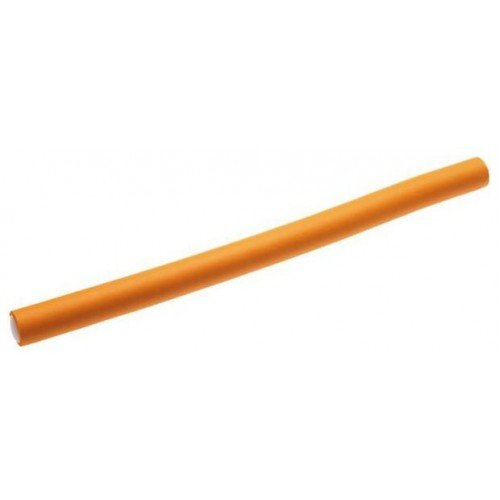 Бигуди-бумеранги Sibel, оранжевые 25 см х 17 мм 12 шт. 4222029