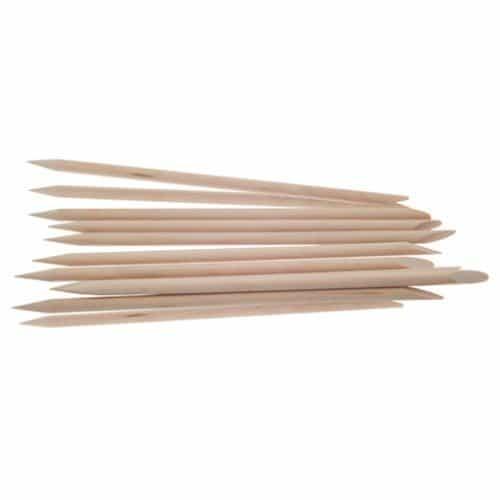 Палочки для маникюра Dewal деревянные, 15 см, 10 шт/упак P-010