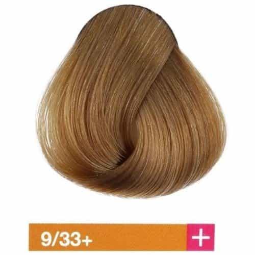 Крем-краска Lakme Collage+ Intense 9/33+, светлый блондин интенсивный золотистый яркий 29331