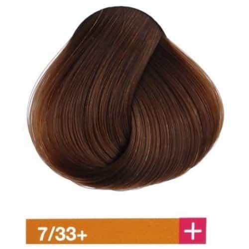 Крем-краска Lakme Collage+ Intense 7/33+, средний блондин, интенсивный золотистый яркий 27331