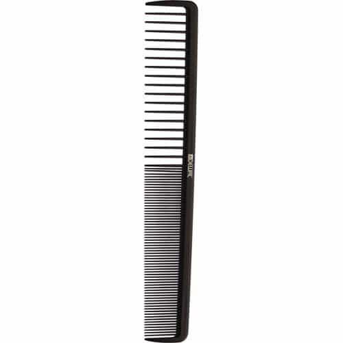 Расческа рабочая Dewal MAGNESIUM комбинированная, широкая, черная 19,5 см CO-M-2001