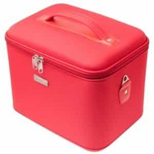 Кейс для парикмахерских инструментов Harizma красный 33х22х27 см h10514-03L