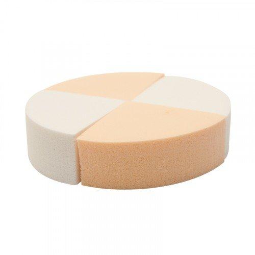 Набор спонжей для нанесения макияжа Planet Nails, треугольник, 4 шт в упаковке 10609